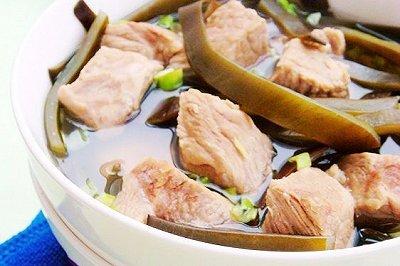 海带炖牛肉