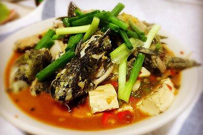 鲜椒黄辣丁炖豆腐