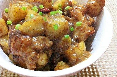 土豆炖鸡腿(懒人版)