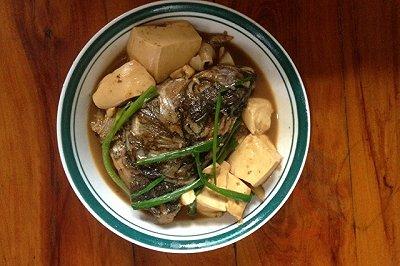胖头鱼烧豆腐