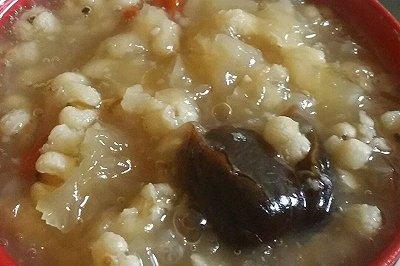 薏仁银耳红枣汤