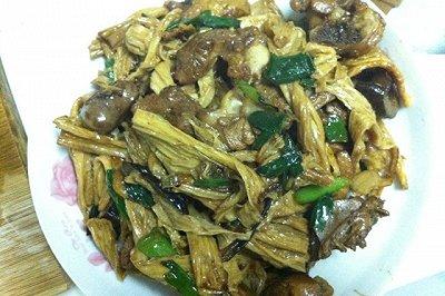 腐竹焖鸭肉