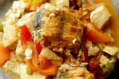 番茄鳕鱼豆腐
