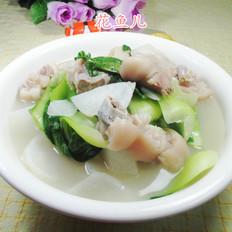 青菜萝卜猪蹄汤