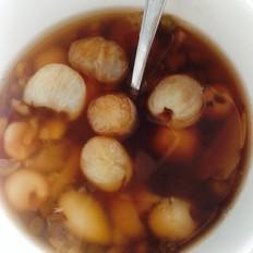 莲子百合绿豆桂圆汤