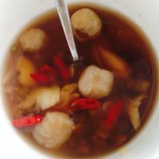 百合绿豆桂圆枸杞汤
