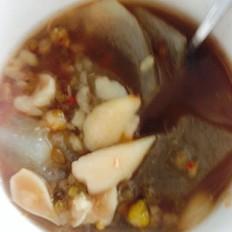 冬瓜百合绿豆汤